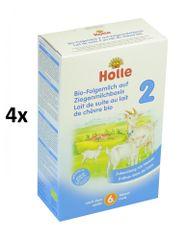 Holle Bio detská mliečna výživa na báze kozieho mlieka - 4 x 400g