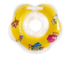 Teddies BABY Plávací nákrčník Flipper žltý