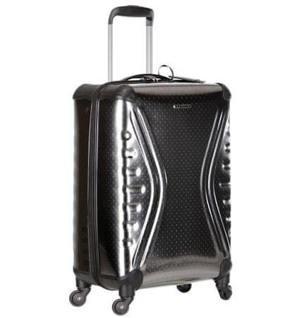 Sirocco Walizka Travel T-1079 / 3-50 PET, metallic 36 l