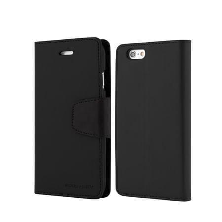 Goospery preklopna torbica Sonata za Samsung Galaxy S6 Edge G925, črna