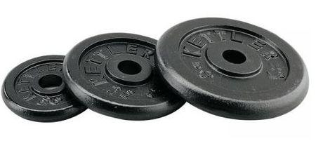 Fitmotiv uteg od lijevanog željeza, 10 kg