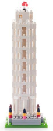 BRIXIES Építőjáték, Pisai ferde torony