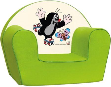 BINO Mole Gyermekfotel, Zöld