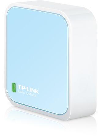 TP-Link nano brezžični usmerjevalnik/dostopna točka TL-WR802N N300