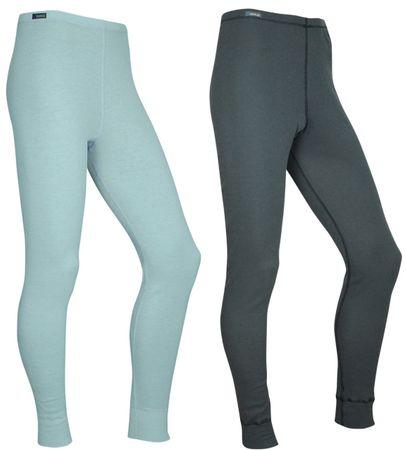 ODLO tajice Warm Multipack, ženske, 2 komada (sive/plave), L