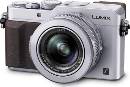 Panasonic fotoaparat Lumix LX100, srebrn