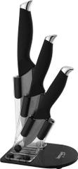 Lamart 3x keramični noži in stojalo, (LT2018)