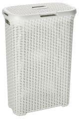 CURVER Kosz na pranie Rattan 40l kremowy