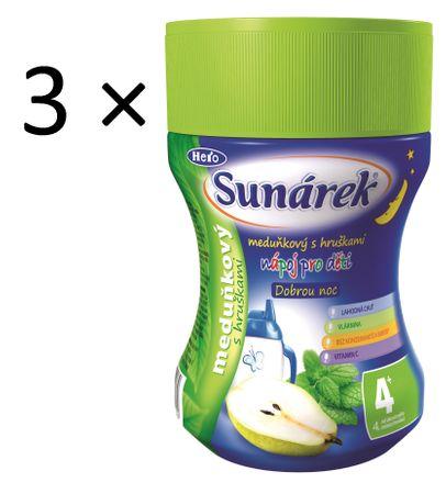 Sunárek Instantní nápoj Dobrou noc, meduňka, 3×200g