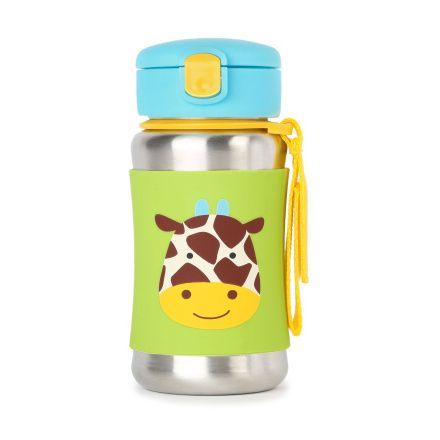 Skip hop Zoo vizes palack rozsdamentes acélból - Zsiráfocska