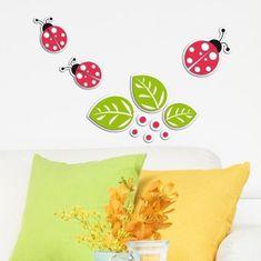 Crearreda dekorativna naljepnica, bubamara, 3D