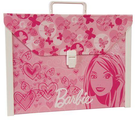kovček Barbie z vsebino