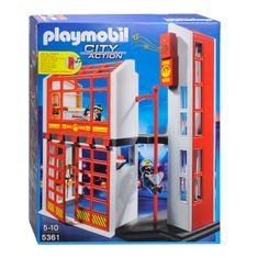 Playmobil 5361 Vatrogasna postaja sa alarmom