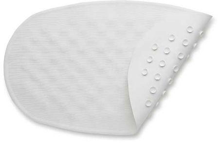BabyDan Csúszásgátló szőnyeg kádba, Fehér ,23x 40 cm