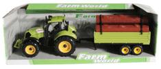 Mac Toys Traktor s prívesom zelený