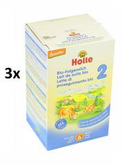 Holle Bio detská mliečna výživa 2 - 3 x 600g