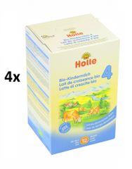 Holle Bio detská mliečna výživa 4 - 4 x 600g