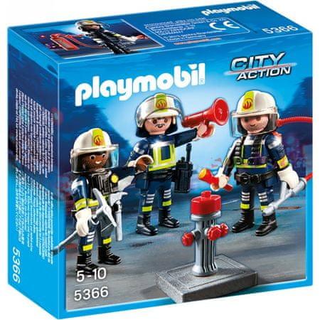 Playmobil 5366 Skupina vatrogasaca