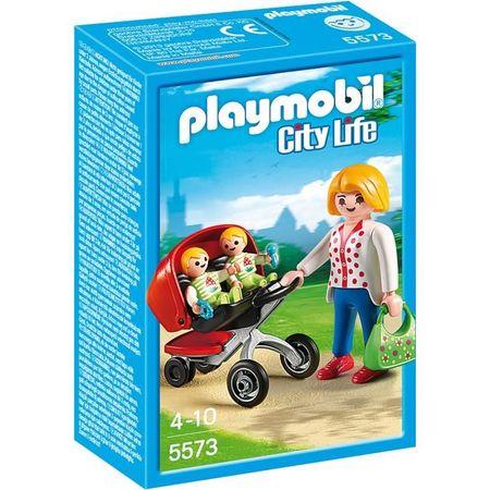 Playmobil 5573 Kočárek pro dvojčata