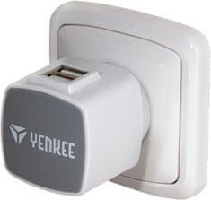 Yenkee Univerzální cestovní USB nabíječka (YAT 202)