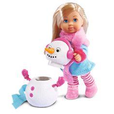 Simba punčka Evi LOVE in snežak