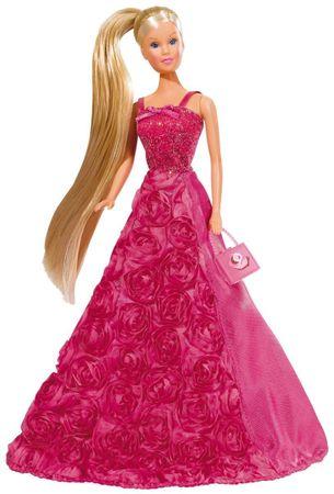 Simba lutka Steffi Gala princeza, tamno roza