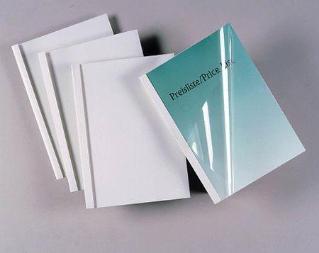 DSB platnice za toplotno vezavo 3 mm, 100 kosov, bele
