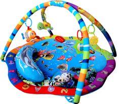 Sun Baby Mata Ocean z dźwiękami, świecącą zabawką i wibracją
