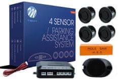M-Tech parkirni senzorji 4-točkovni z zvočnim signalom