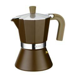 Monix Cream Indukciós Kotyogós Kávéfőző, 6 személyes