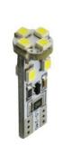 M-Tech žarnica L312 - W5W 8xSMD3528 CANBUS, bela