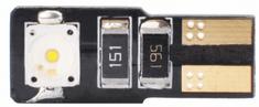M-Tech žarnica L337 - W5W 6W 12V Canbus, bela