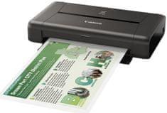 CANON PIXMA iP110 Hordozható nyomtató (9596B009AA)