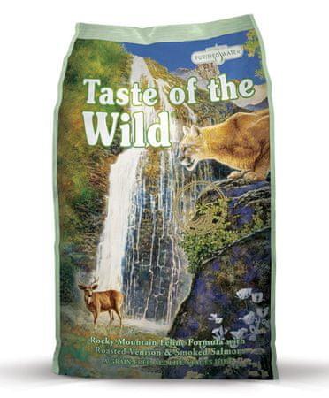 Taste of the Wild Rocky Mnt. Feline macskaeledel - 7 kg