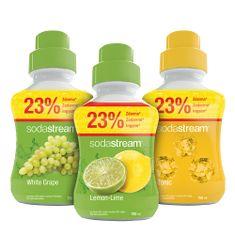 Sodastream Citrom/Szőlő/Tonic szörp 750 ml