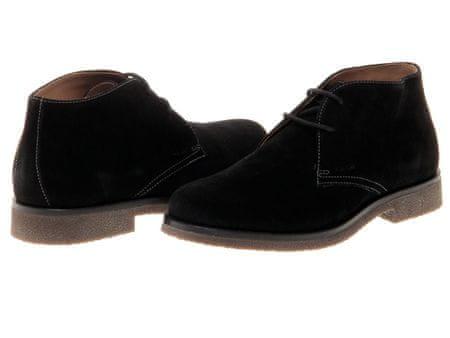529aca6d89 Geox pánská kožená kotníčková obuv 46 černá