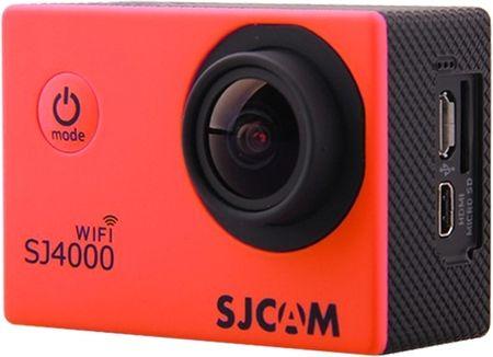 SJCAM športna kamera SJ4000 WiFi, rdeča