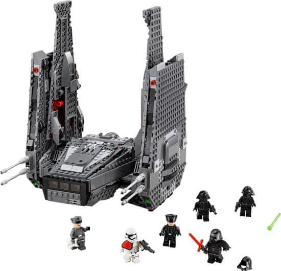 LEGO Star Wars™ 75104 Kylo Renova velitelská loď - rozbaleno