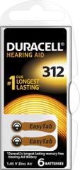 Duracell Hearing Aid, 312, 6ks