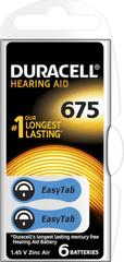 Duracell Hearing Aid 675 Hallókészülék elem, 6db