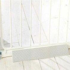 BabyDan Rampy s tlakovým zábranám 2ks biela