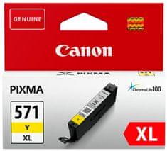Canon tinta 571 XL, žuta, (CLI-571Y)