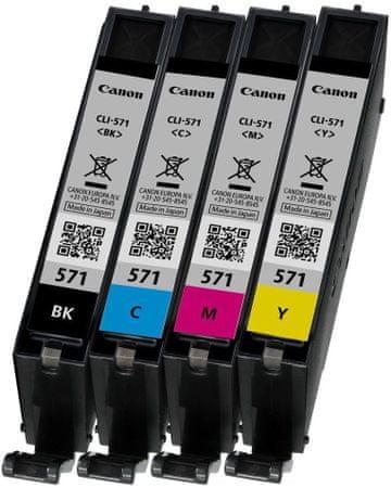 Canon kartuše MultiPack CLI-571 C/M/Y/BK