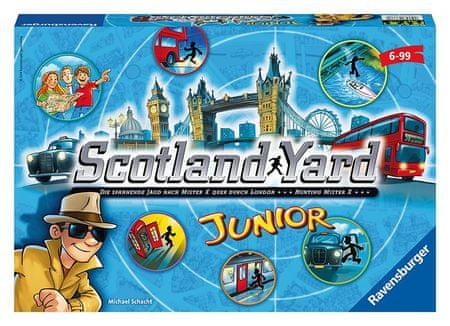 Ravensburger gra planszowa Scotland Yard junior