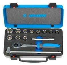 """Unior garnitura nasadnih ključeva 1/2"""" u metalnoj kutiji - 190BI6P14 (611940)"""