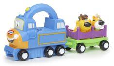 Little Tikes Wesoła lokomotywa z wagonikiem