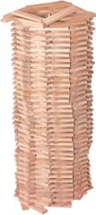 Woody Stavebnice Karla přírodní, 200 dílů