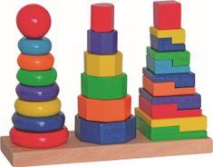 Woody Fa építő torony