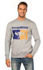 KangaROOS unisex mikina šedá S - zánovní