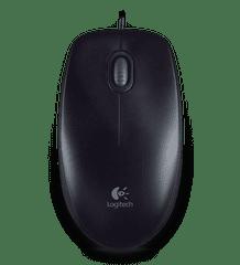 Logitech B100, Optical USB Mouse, černá